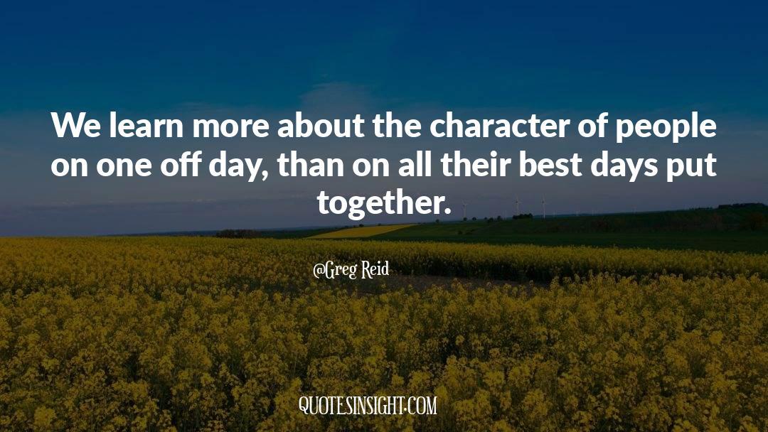 Greg Reid Quotes #1374395