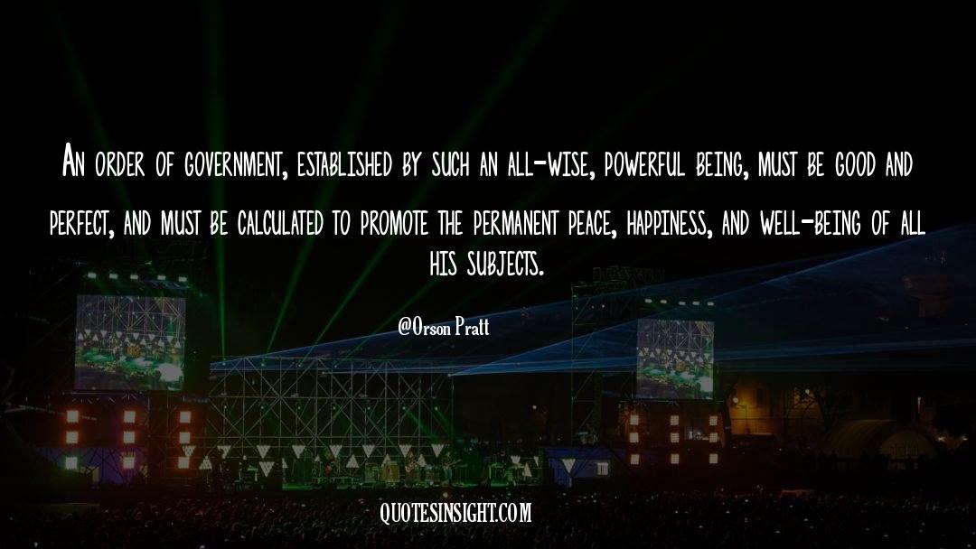 Orson Pratt Quotes #1096461
