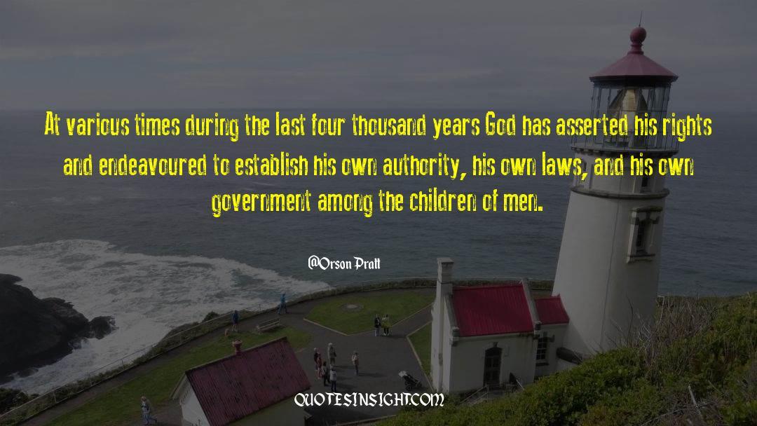 Orson Pratt Quotes #1237266