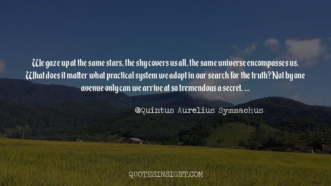 Quintus Aurelius Symmachus Quotes #1568804