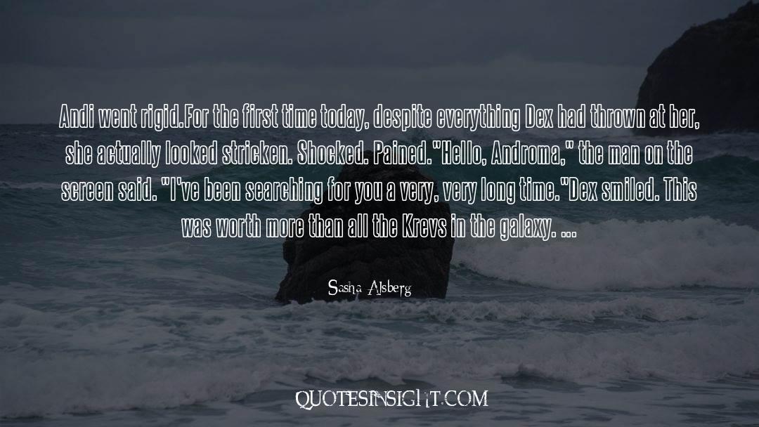Sasha Alsberg Quotes #1312687