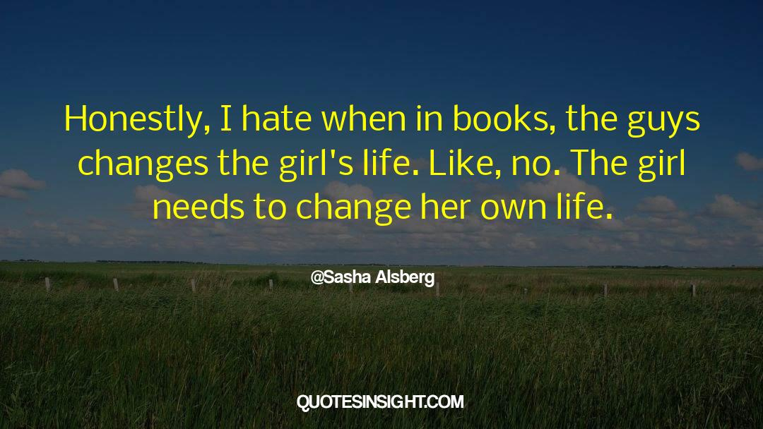 Sasha Alsberg Quotes #360120
