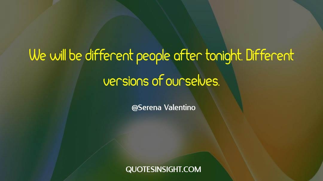 Serena Valentino Quotes #975928