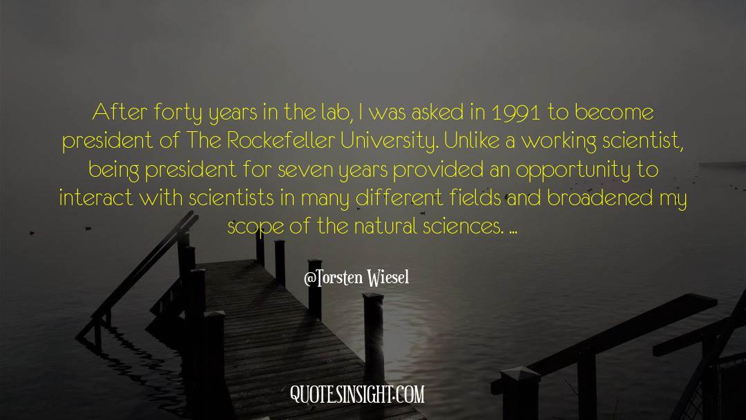 Torsten Wiesel Quotes #974114