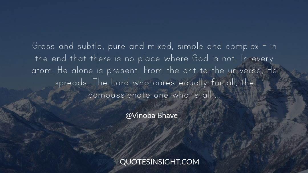 Vinoba Bhave Quotes #211461
