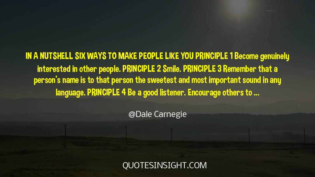 4 quotes by Dale Carnegie
