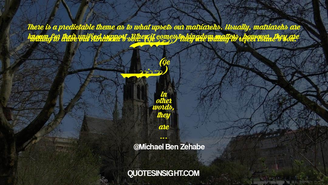 4 quotes by Michael Ben Zehabe