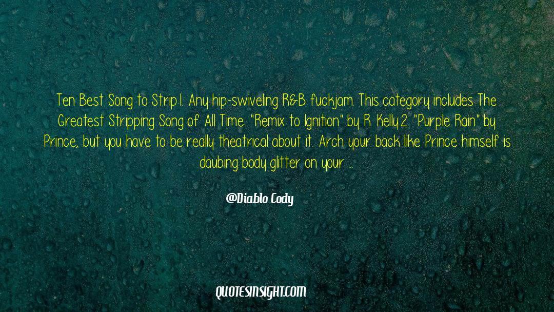 4 quotes by Diablo Cody