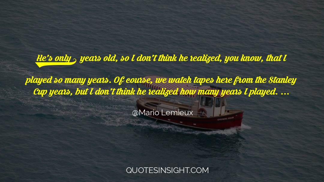 4 quotes by Mario Lemieux