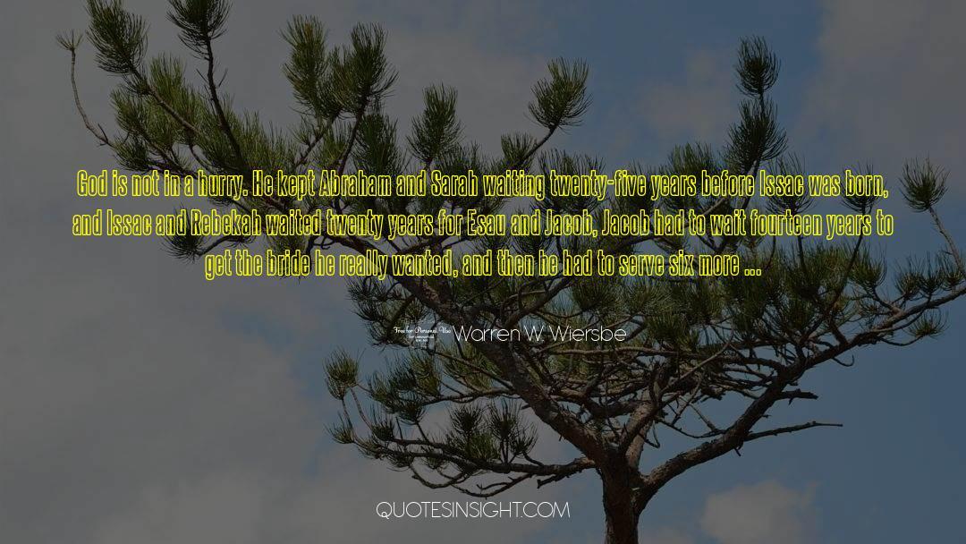4 quotes by Warren W. Wiersbe