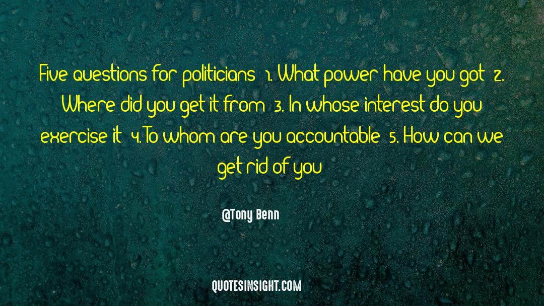 4 quotes by Tony Benn