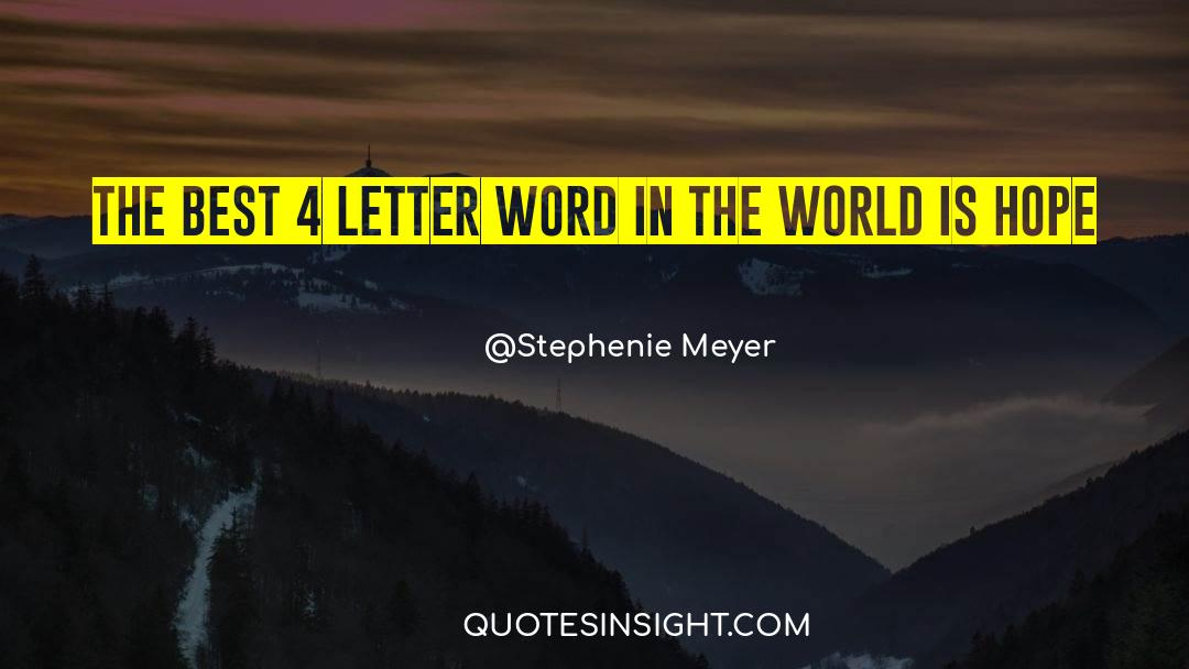 4 quotes by Stephenie Meyer