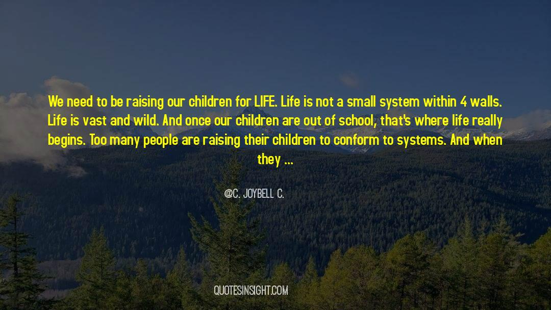 4 quotes by C. JoyBell C.
