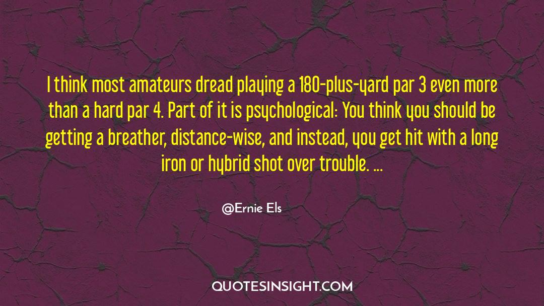 4 quotes by Ernie Els