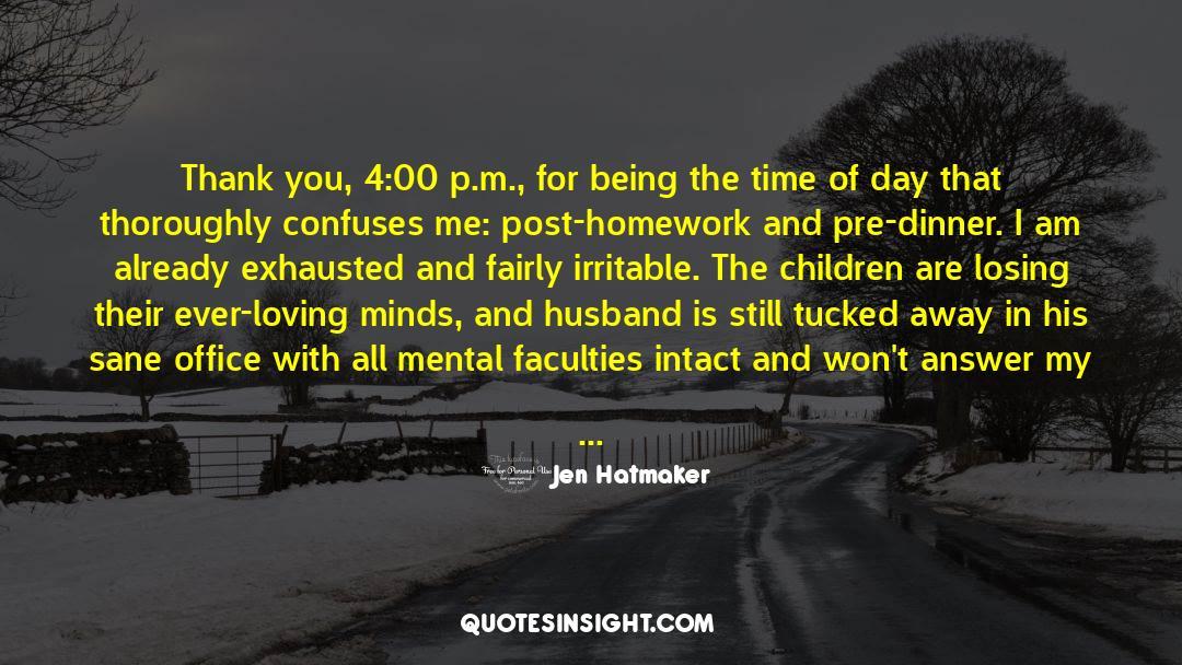 4 quotes by Jen Hatmaker
