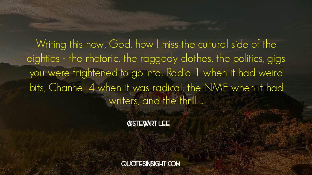 4 quotes by Stewart Lee