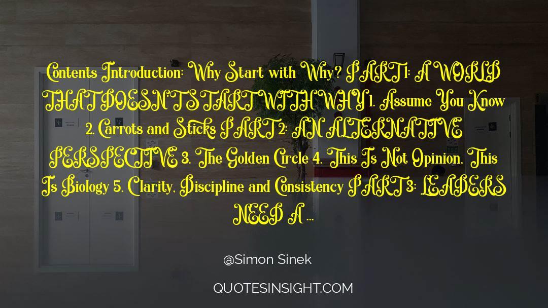 4 quotes by Simon Sinek