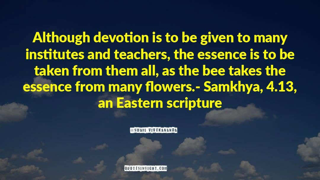 4 quotes by Swami Vivekananda