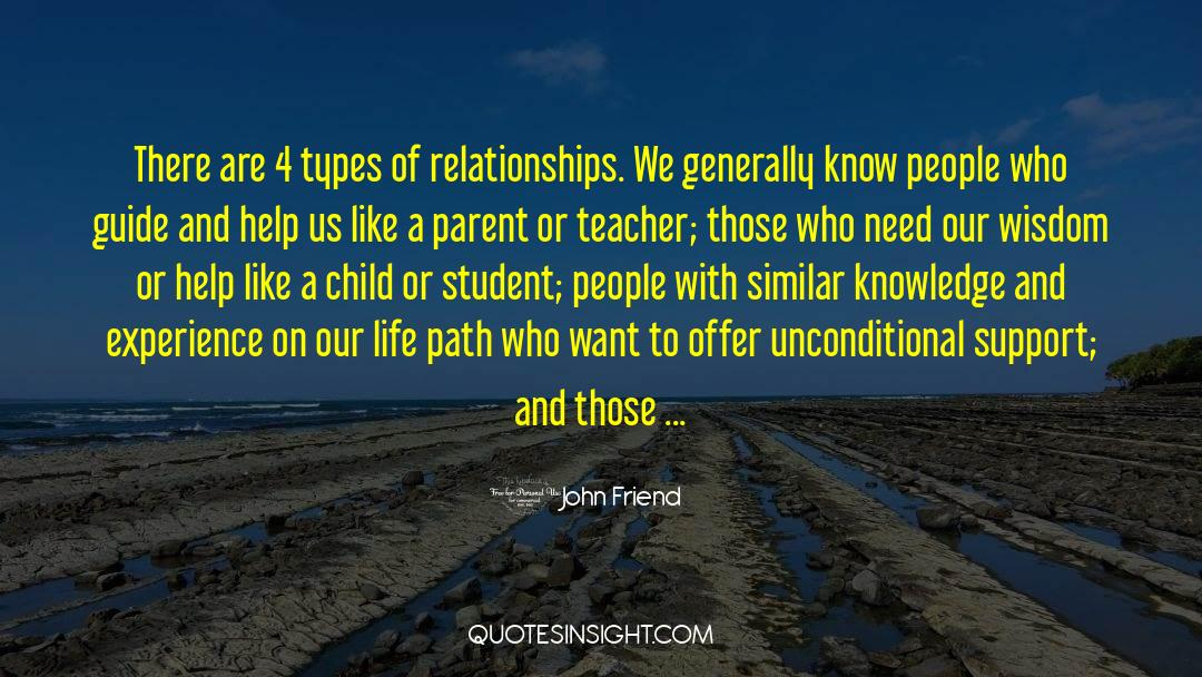 4 quotes by John Friend