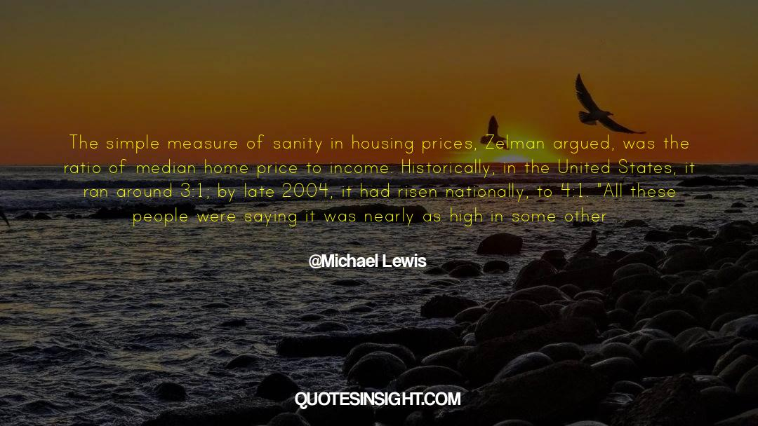 4 quotes by Michael Lewis