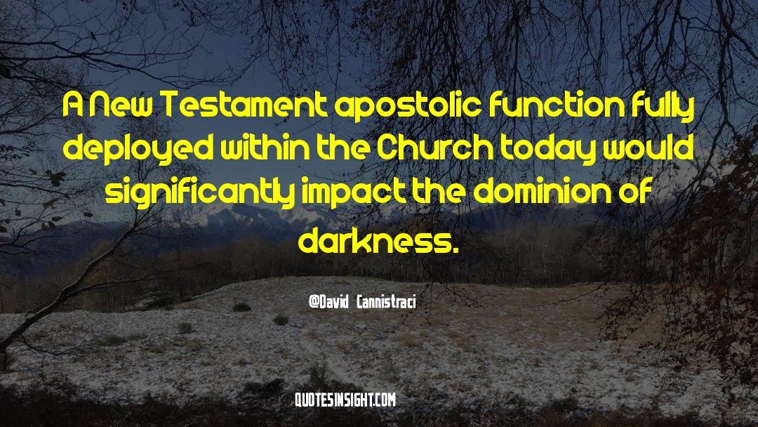 Apostolic Ministries Quotes