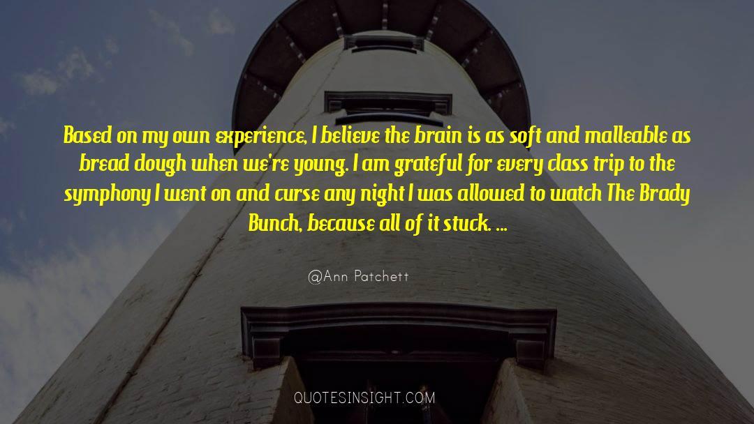 Brady quotes by Ann Patchett