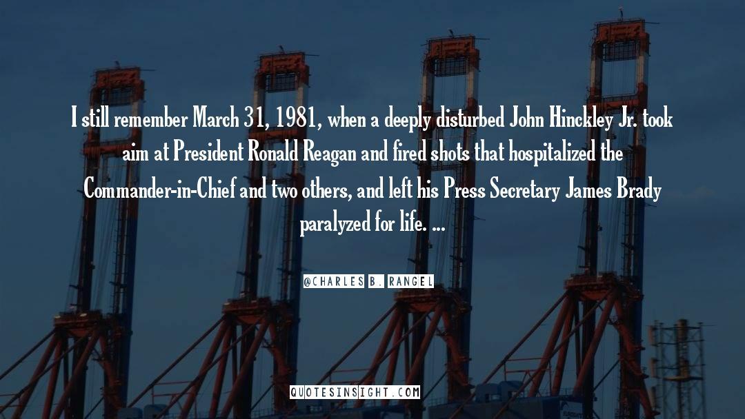 Brady quotes by Charles B. Rangel