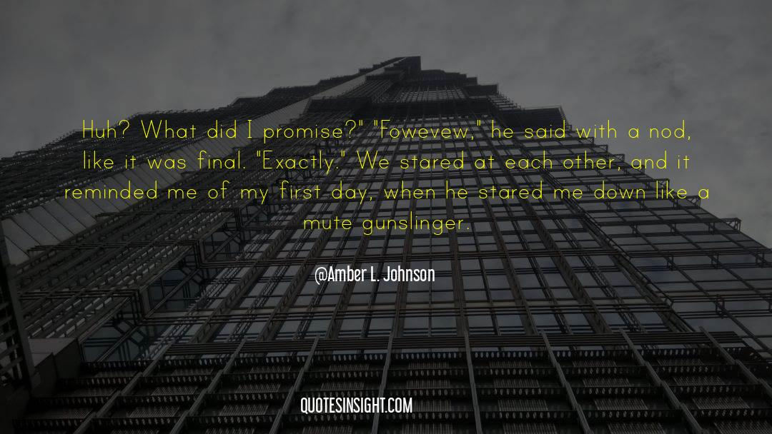 Brady quotes by Amber L. Johnson
