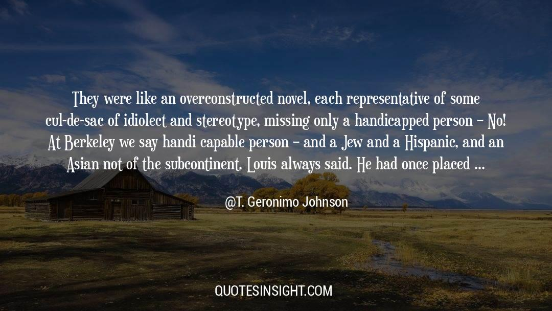 Brady quotes by T. Geronimo Johnson