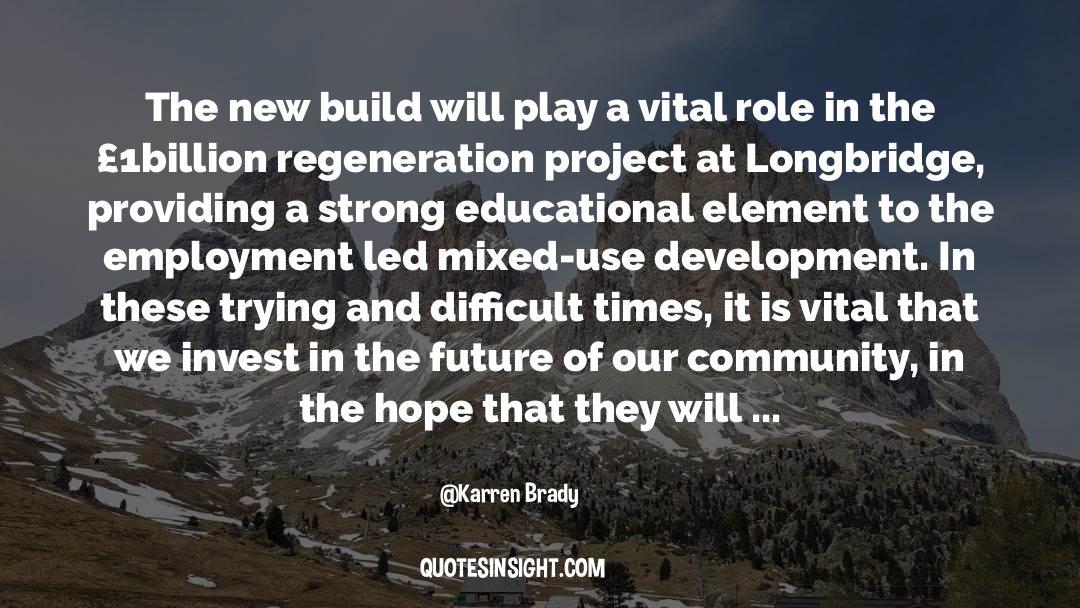 Brady quotes by Karren Brady