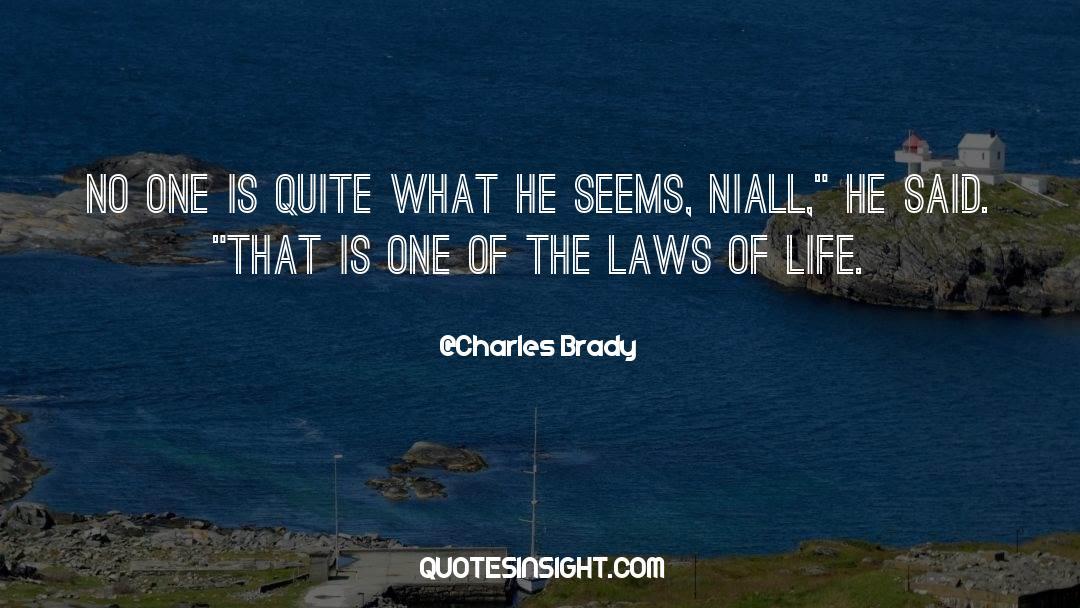 Brady quotes by Charles Brady