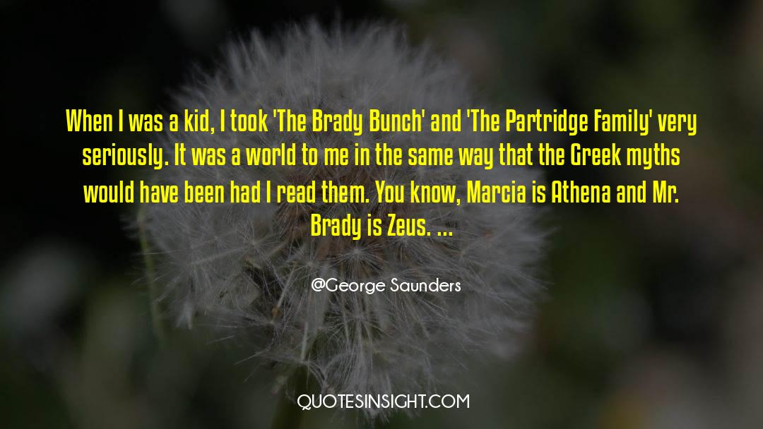 Brady quotes by George Saunders