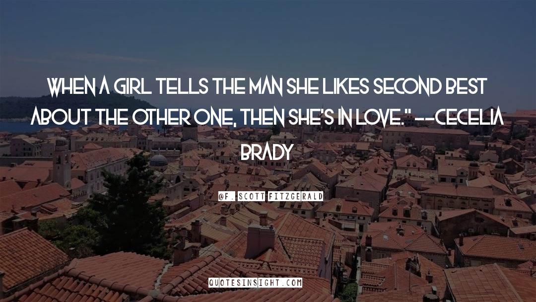 Brady quotes by F. Scott Fitzgerald