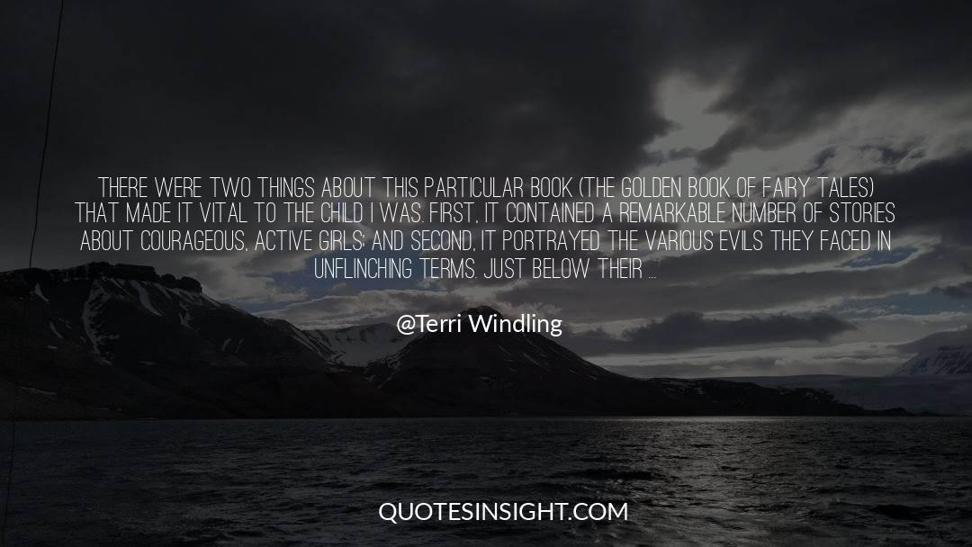 Brady quotes by Terri Windling