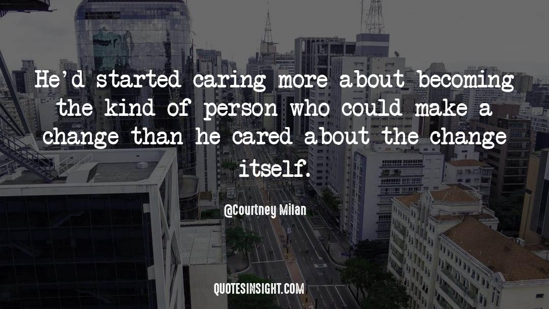 Caring More Quotes