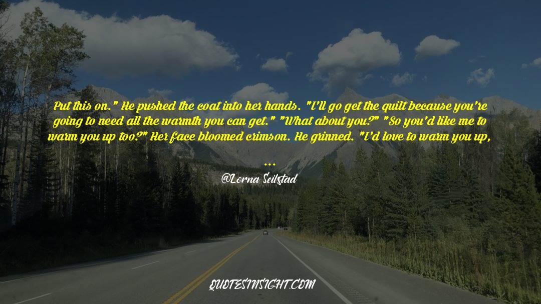 Coat quotes by Lorna Seilstad