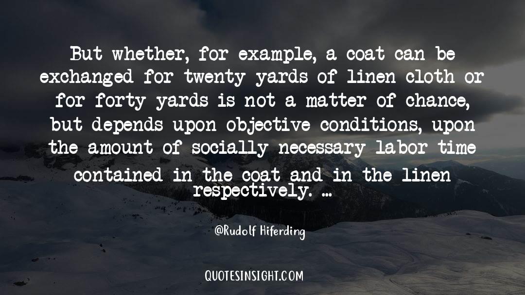 Coat quotes by Rudolf Hiferding