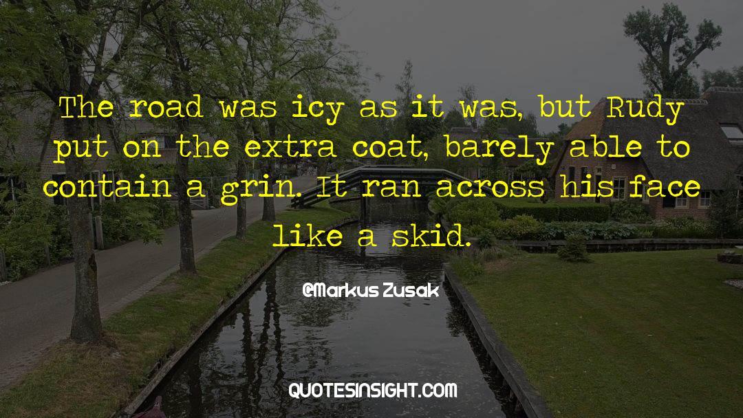 Coat quotes by Markus Zusak