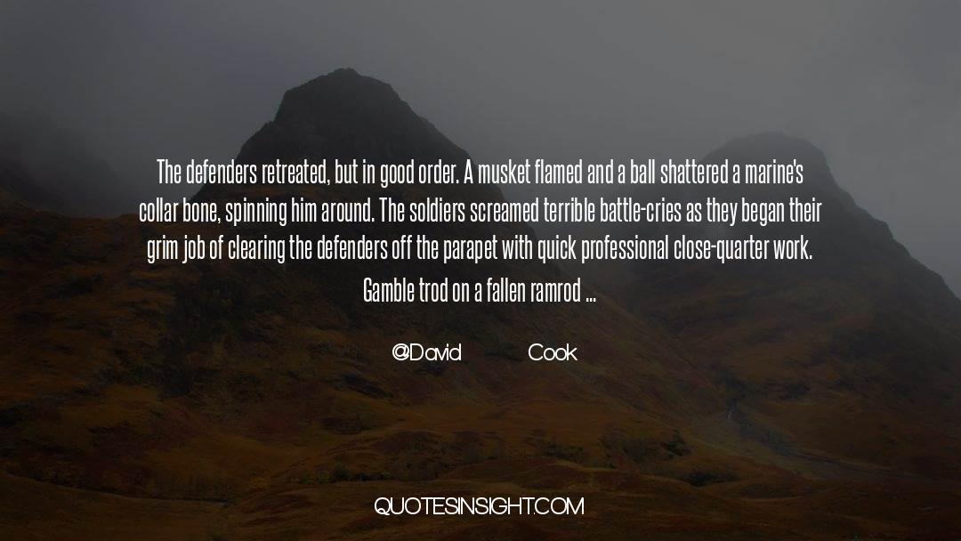 Coat quotes by David        Cook