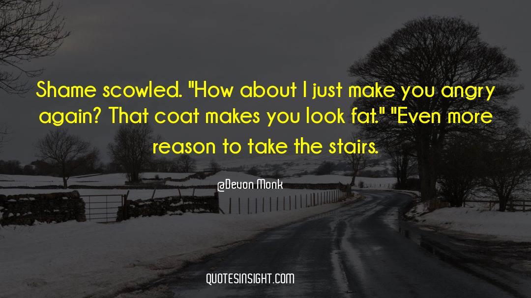 Coat quotes by Devon Monk