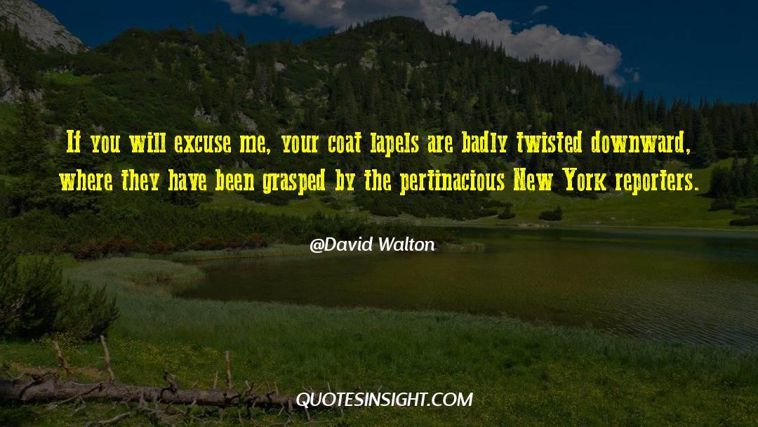 Coat quotes by David Walton