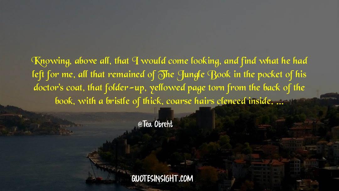 Coat quotes by Tea Obreht