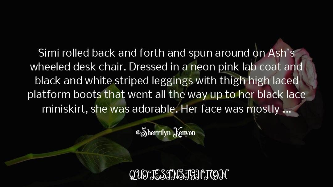 Coat quotes by Sherrilyn Kenyon