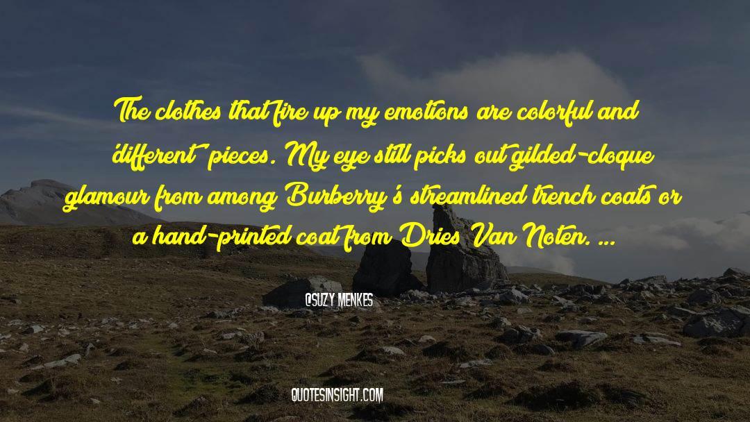 Coat quotes by Suzy Menkes