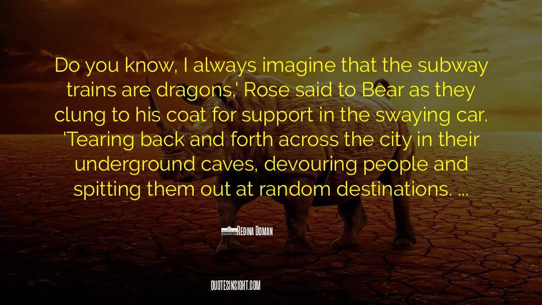 Coat quotes by Regina Doman