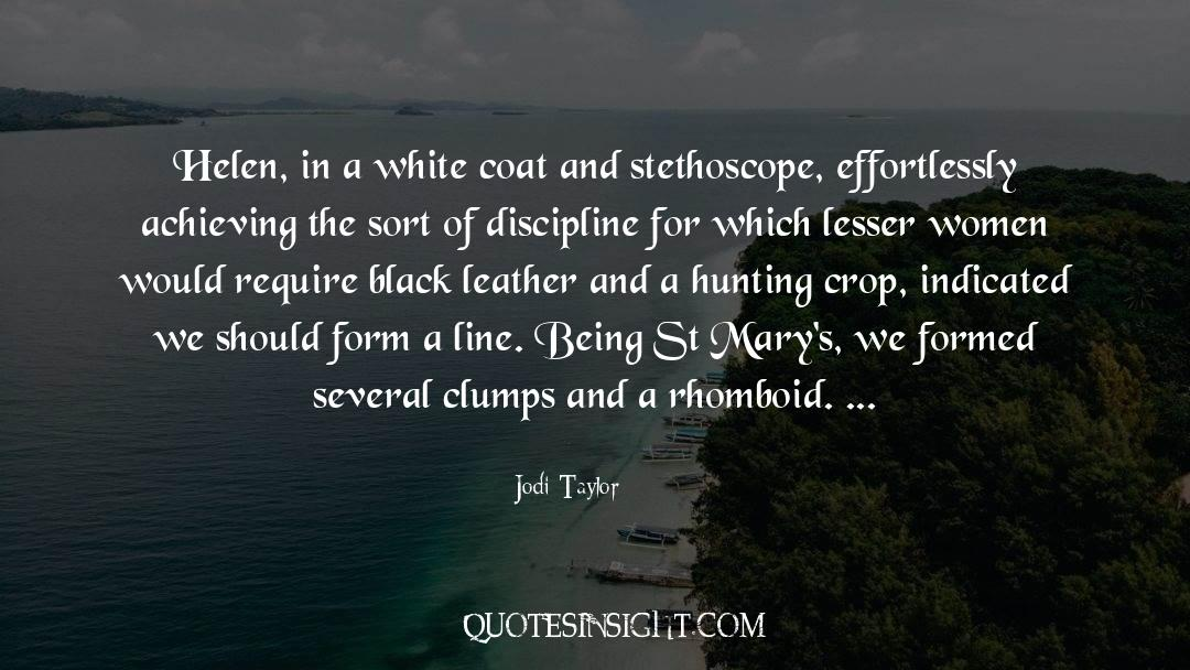 Coat quotes by Jodi Taylor
