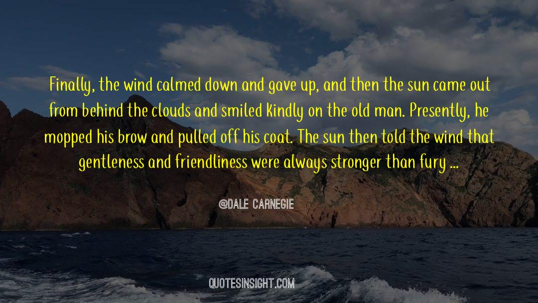 Coat quotes by Dale Carnegie