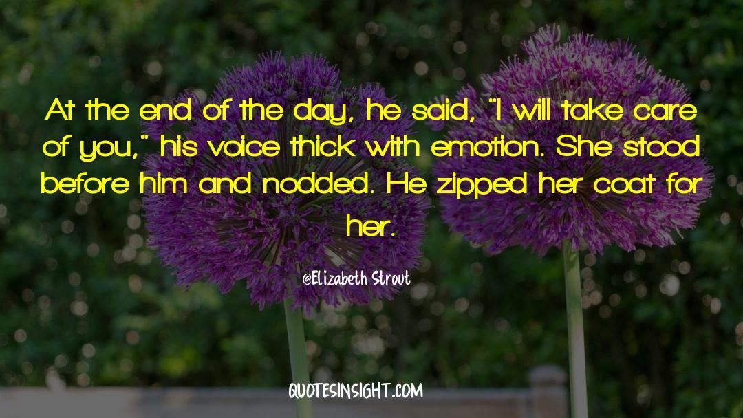 Coat quotes by Elizabeth Strout