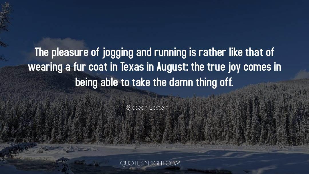 Coat quotes by Joseph Epstein