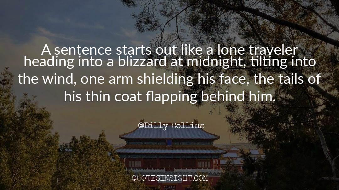 Coat quotes by Billy Collins